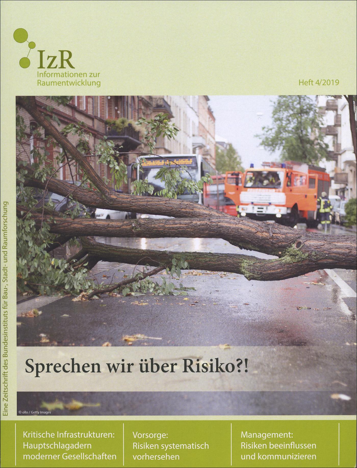 Cover der Zeitschrift IZR Heft 2019/4