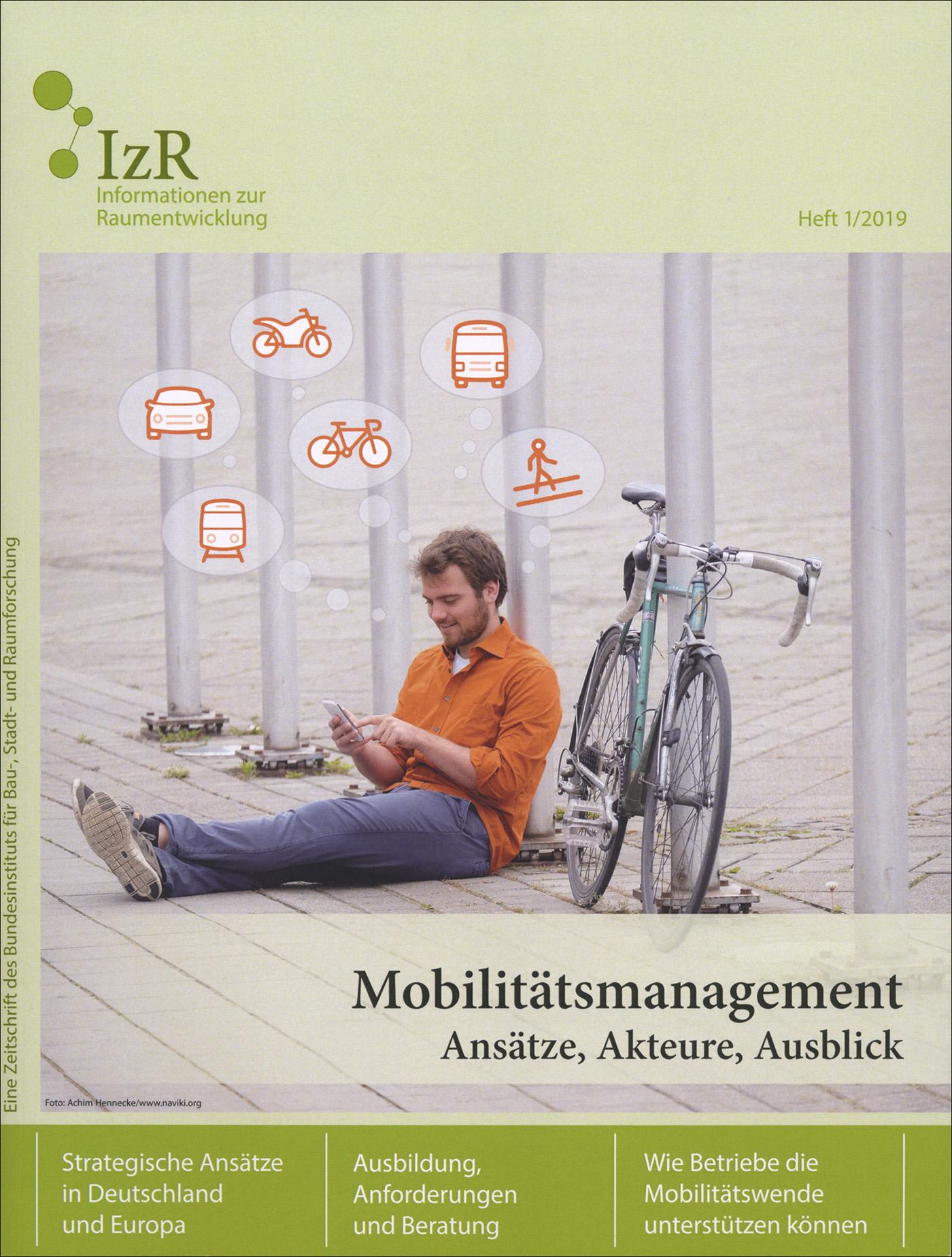 Cover der Zeitschrift IZR Heft 2019/1