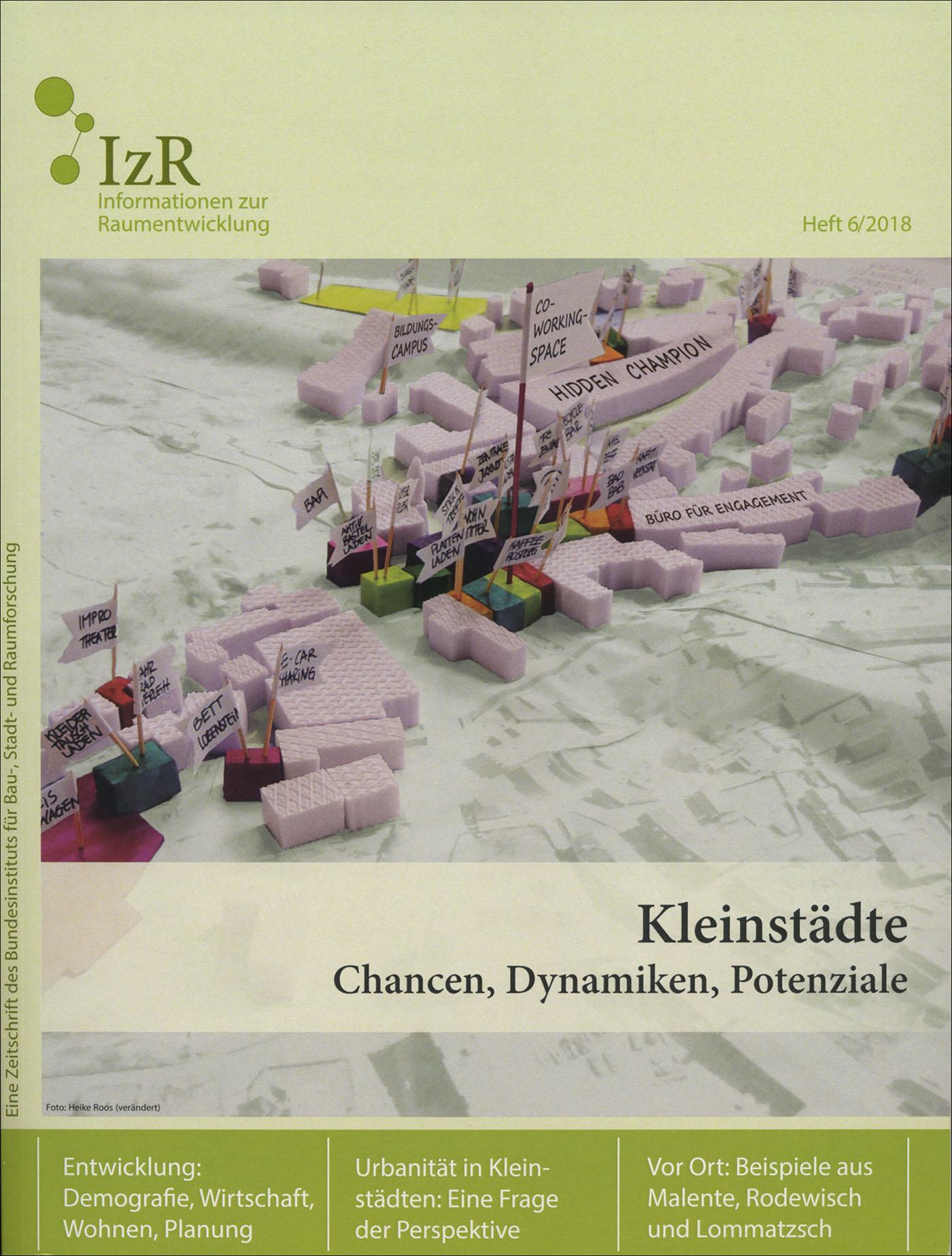 Cover der Zeitschrift IZR Heft 2018/6