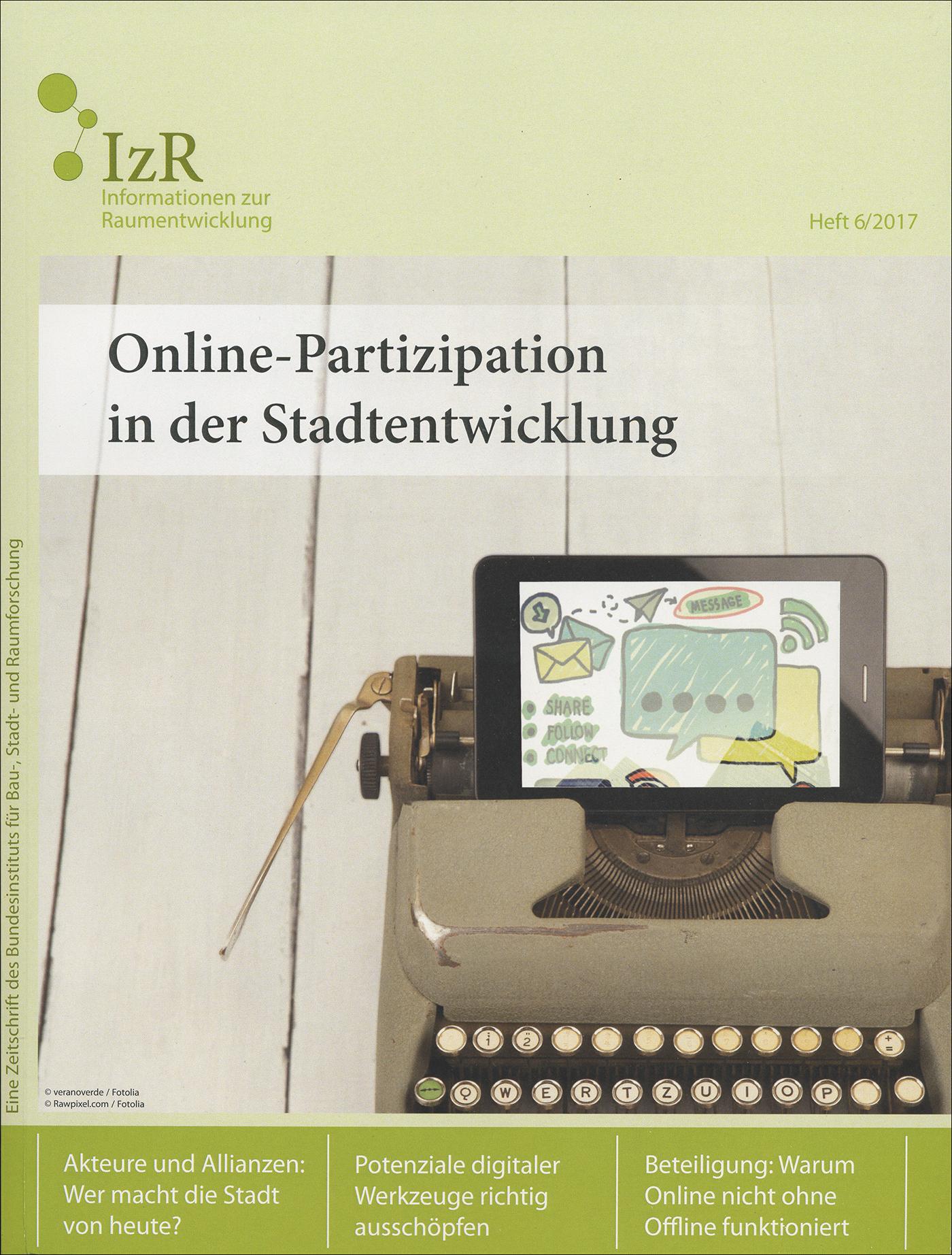 Cover der Zeitschrift IZR Heft 2017/6