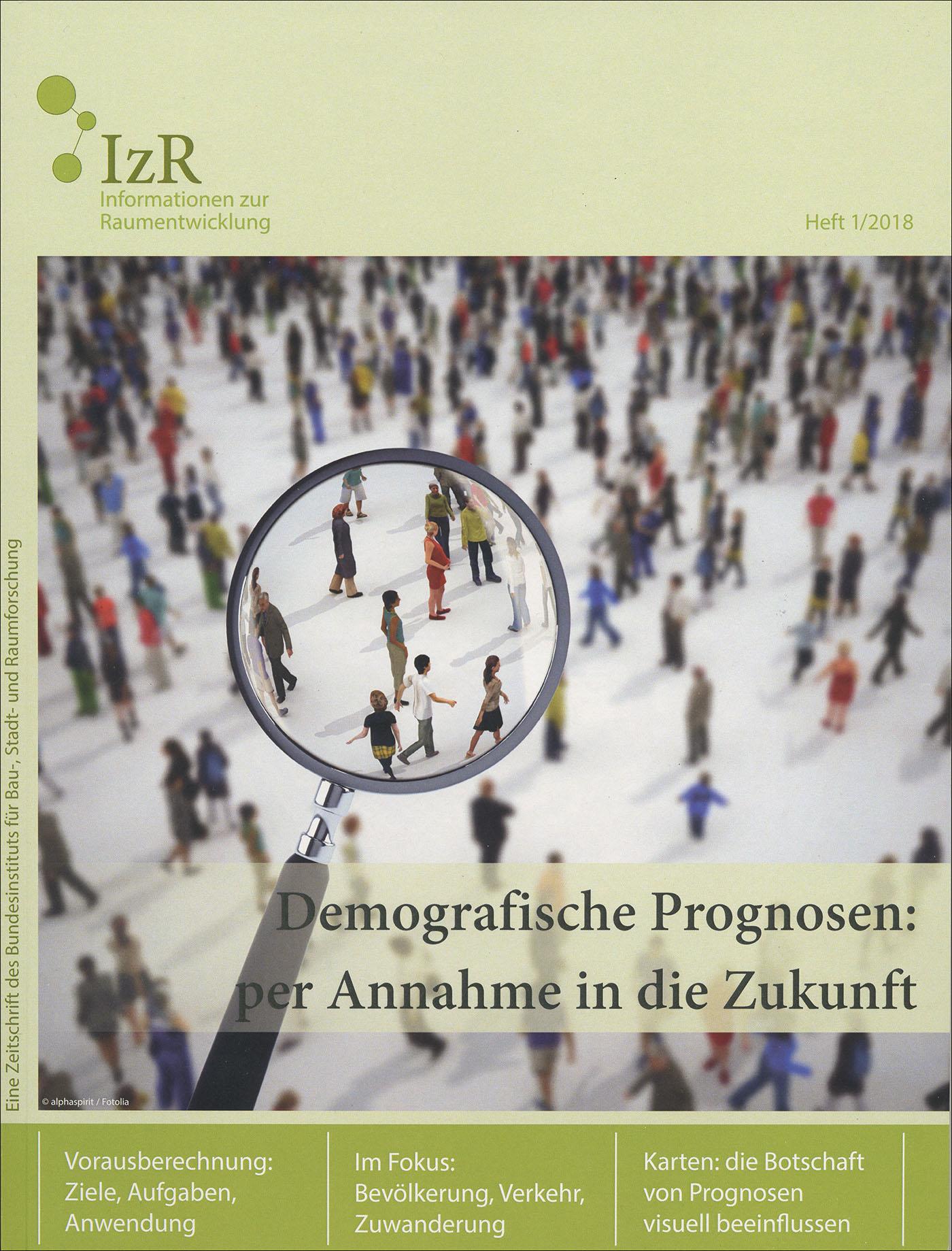 Cover der Zeitschrift IZR Heft 2018/1