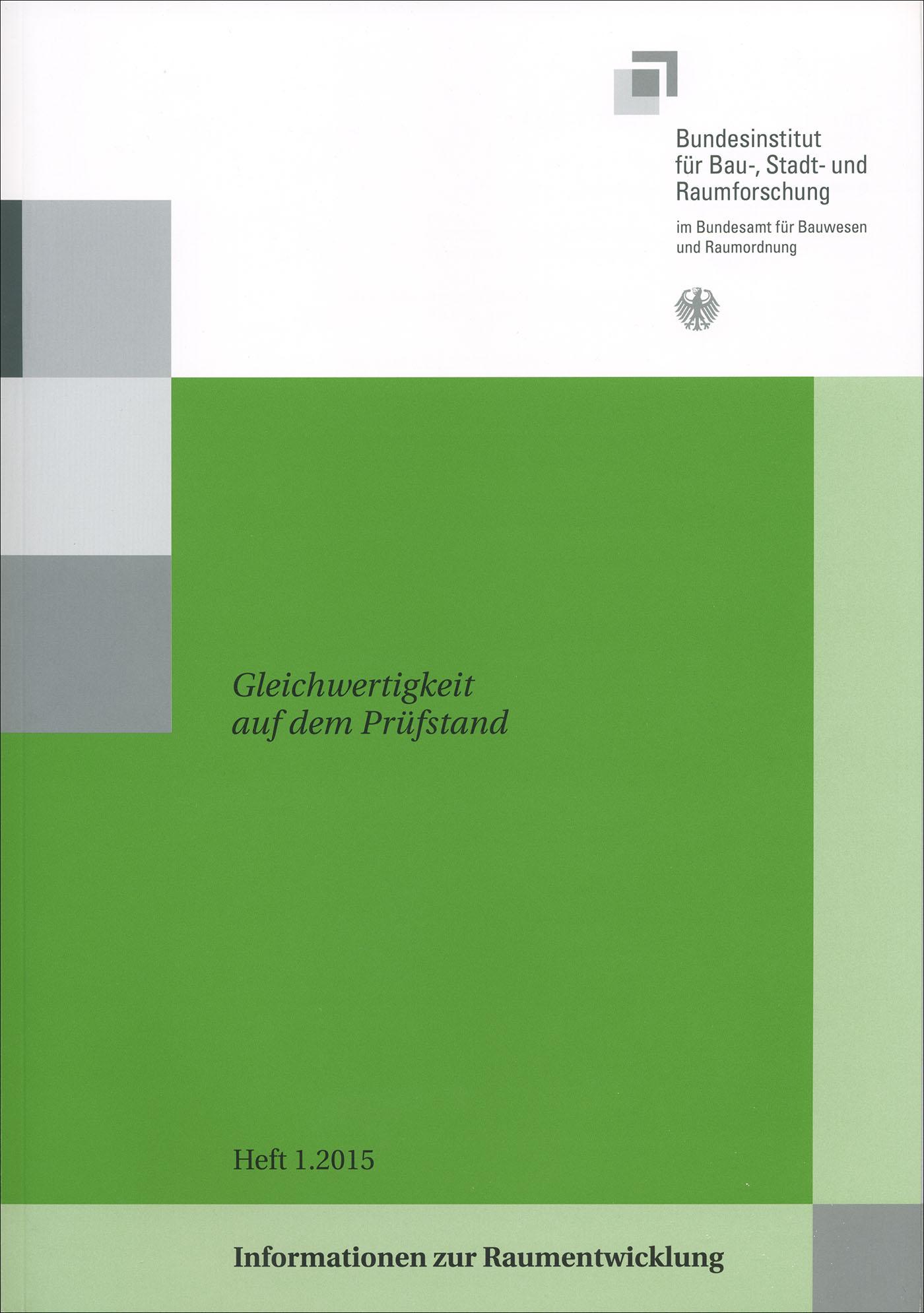 Cover der Zeitschrift IZR Heft 2015/1