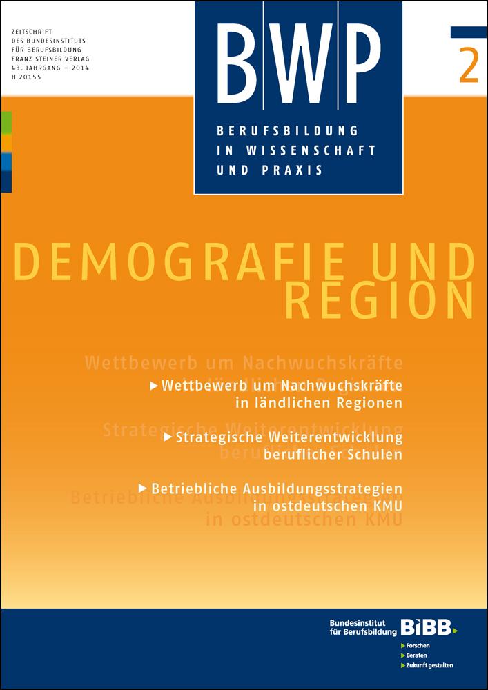 Cover der Zeitschrift BWP Heft 2014/2