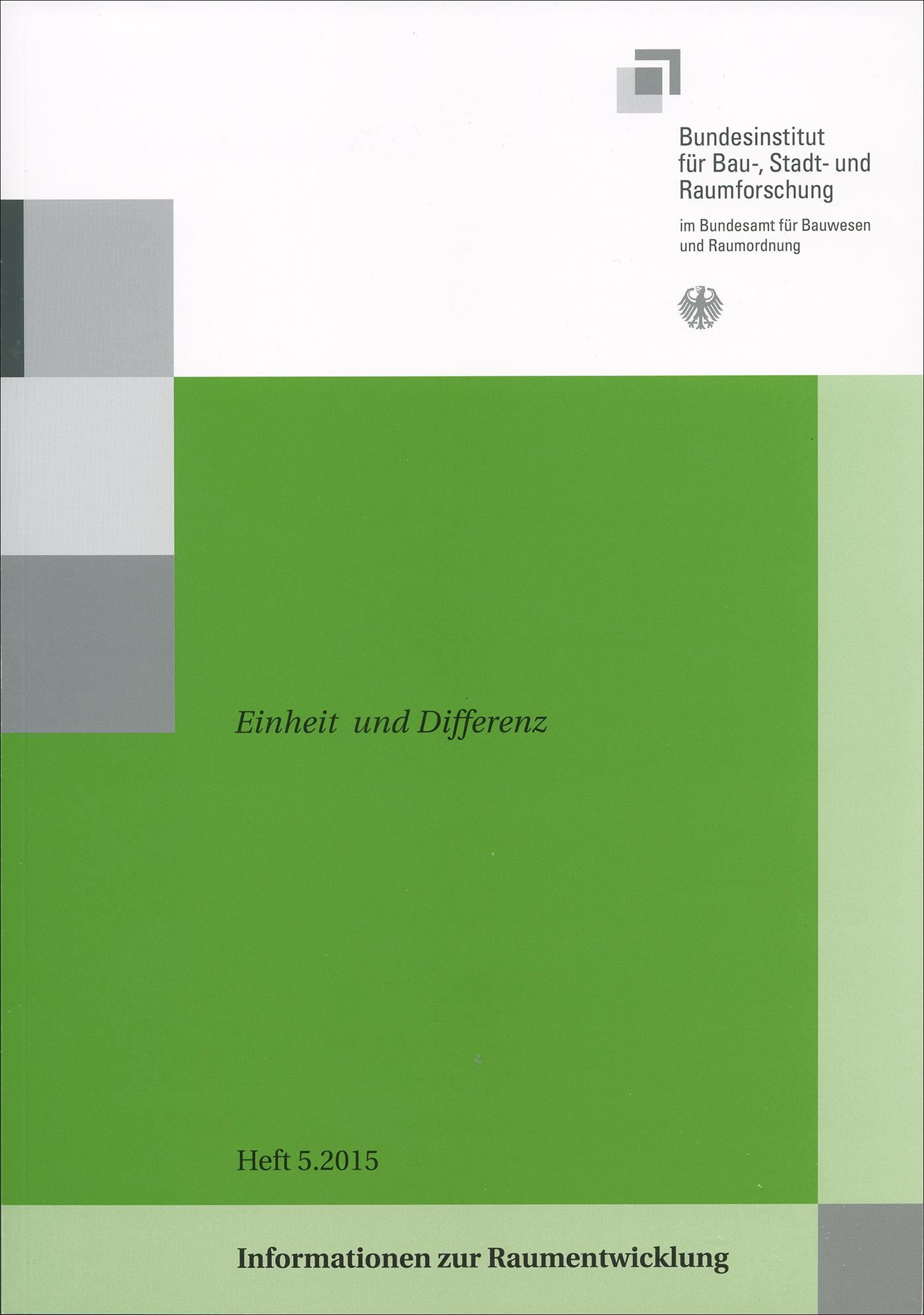Cover der Zeitschrift IZR Heft 2015/5
