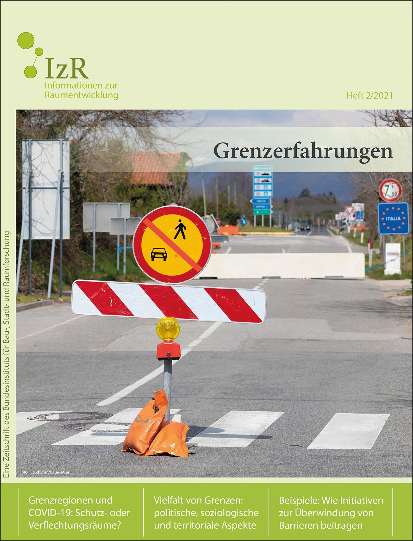 Cover der Zeitschrift IZR Heft 2021/1