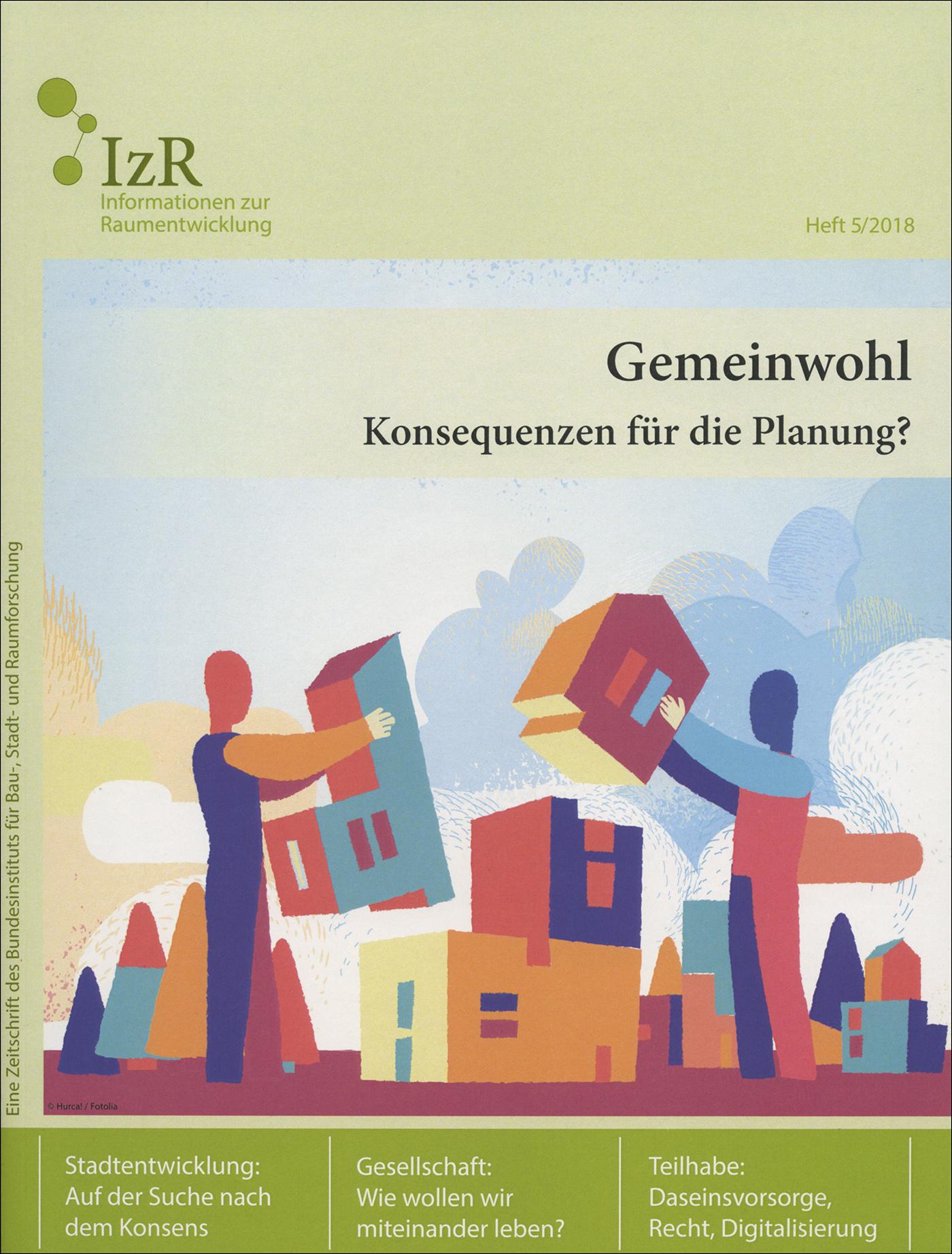 Cover der Zeitschrift IZR Heft 2018/5
