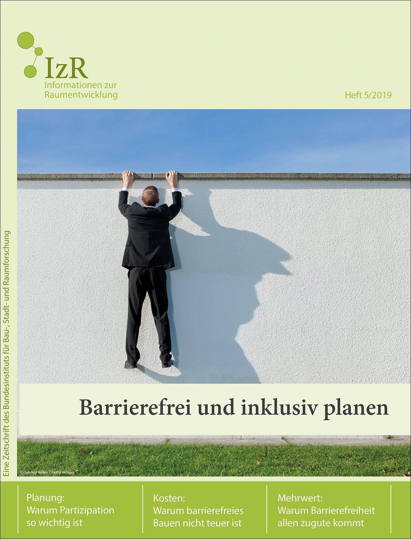 Cover der Zeitschrift IZR Heft 2019/5