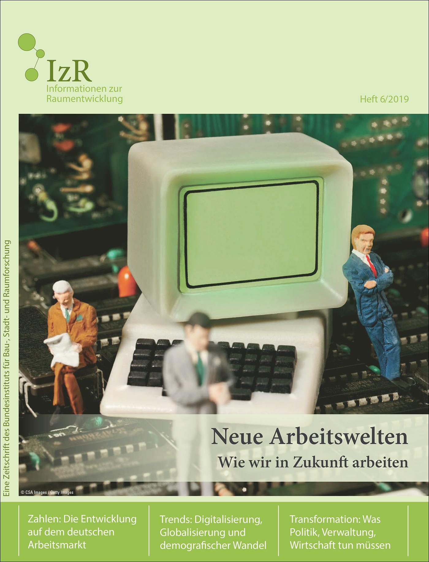 Cover der Zeitschrift IZR Heft 2019/6