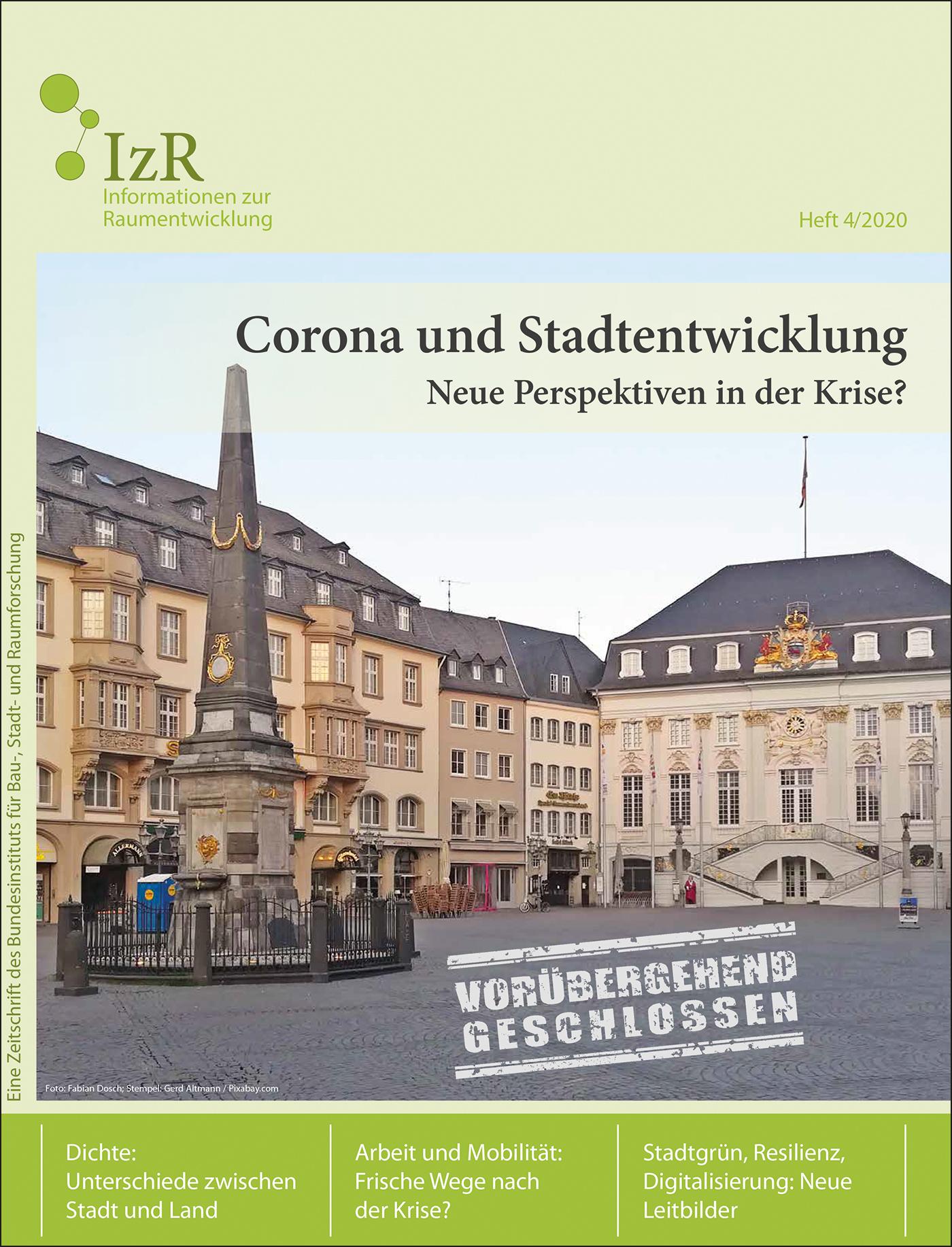 Cover der Zeitschrift IZR Heft 2020/4