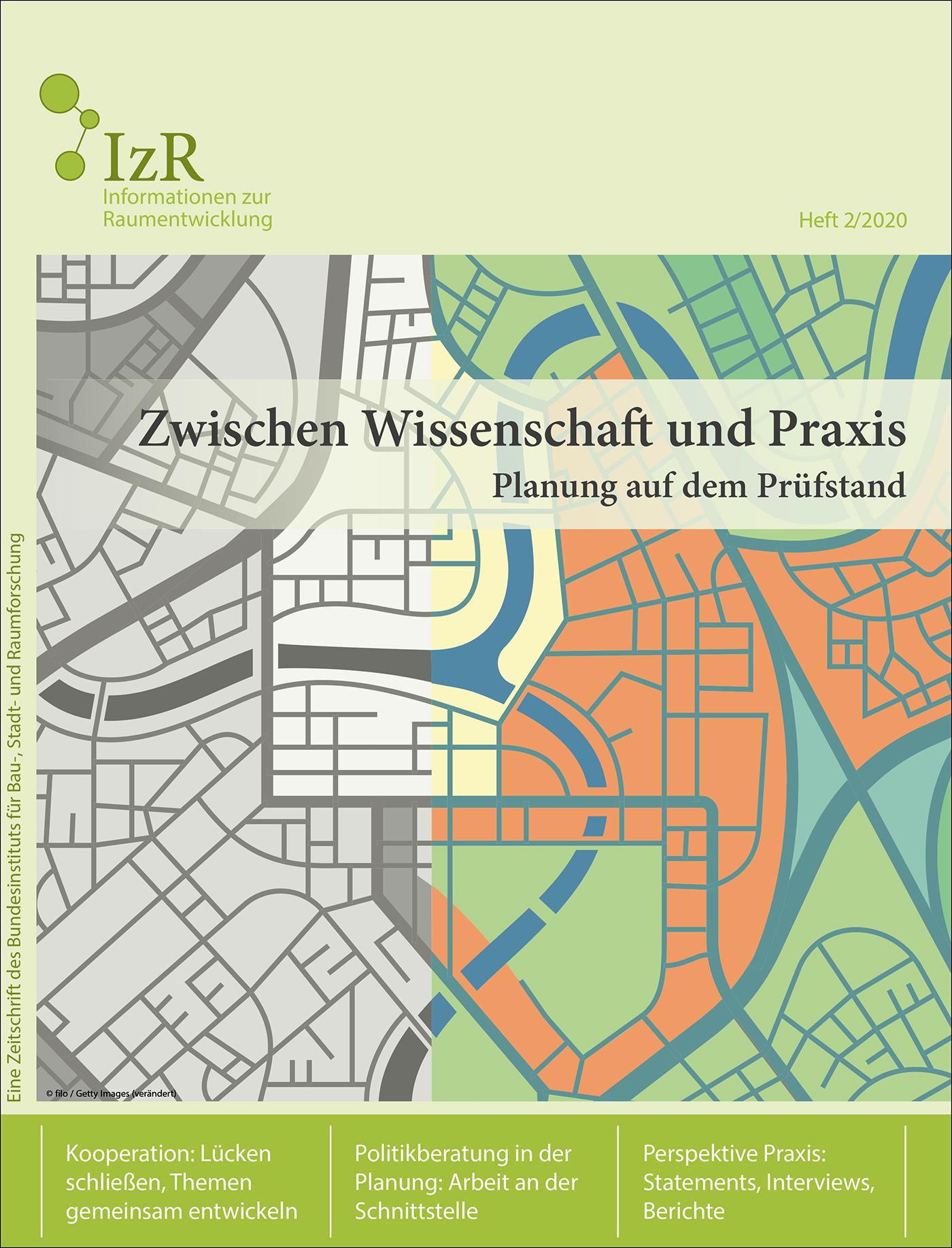Cover der Zeitschrift IZR Heft 2020/2