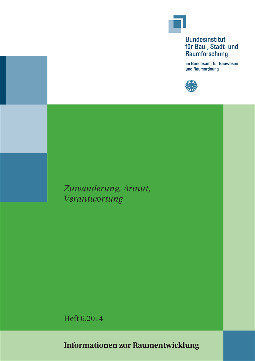 Cover der Zeitschrift IZR Heft 2014/6