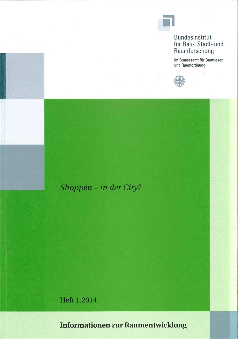Cover der Zeitschrift IZR Heft 2014/1