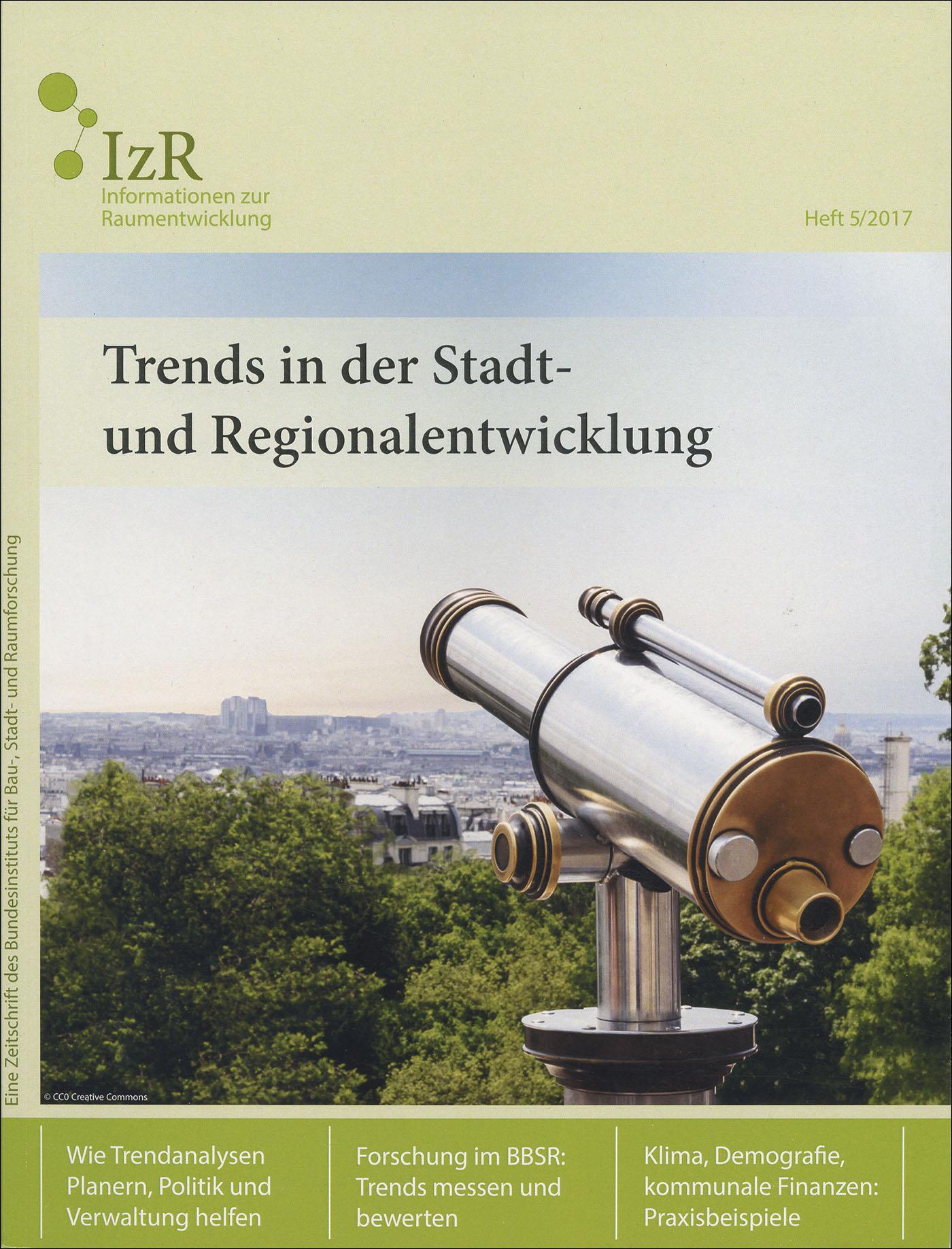 Cover der Zeitschrift IZR Heft 2017/5