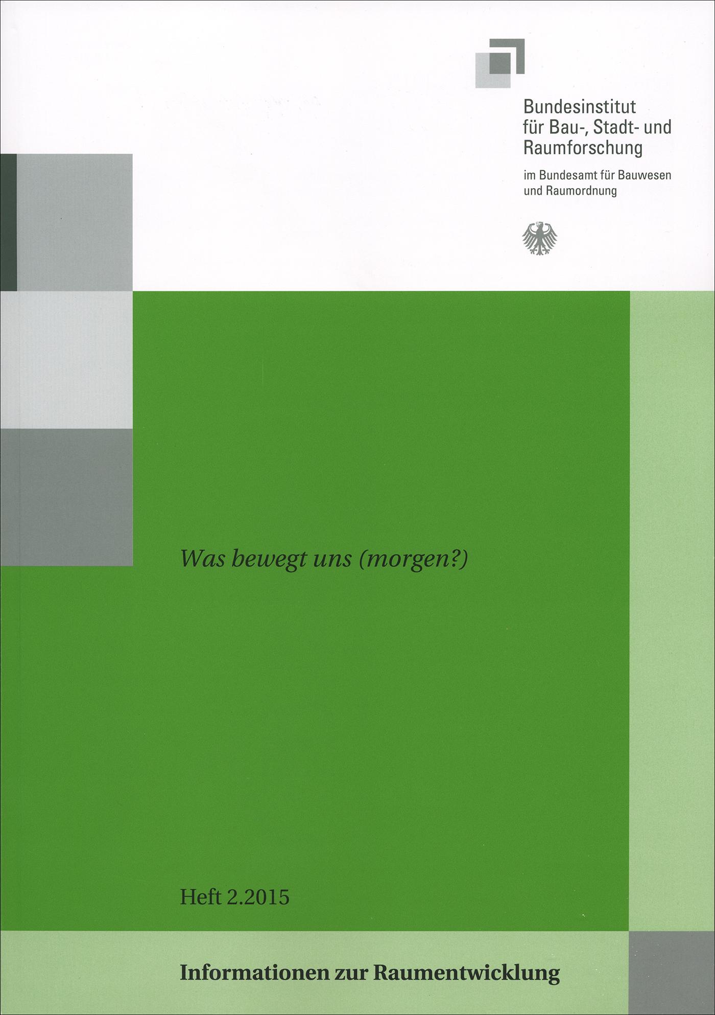 Cover der Zeitschrift IZR Heft 2015/2