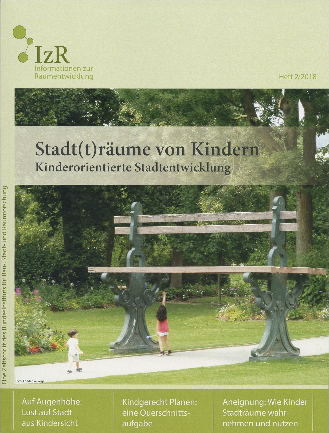 Cover der Zeitschrift IZR Heft 2018/2