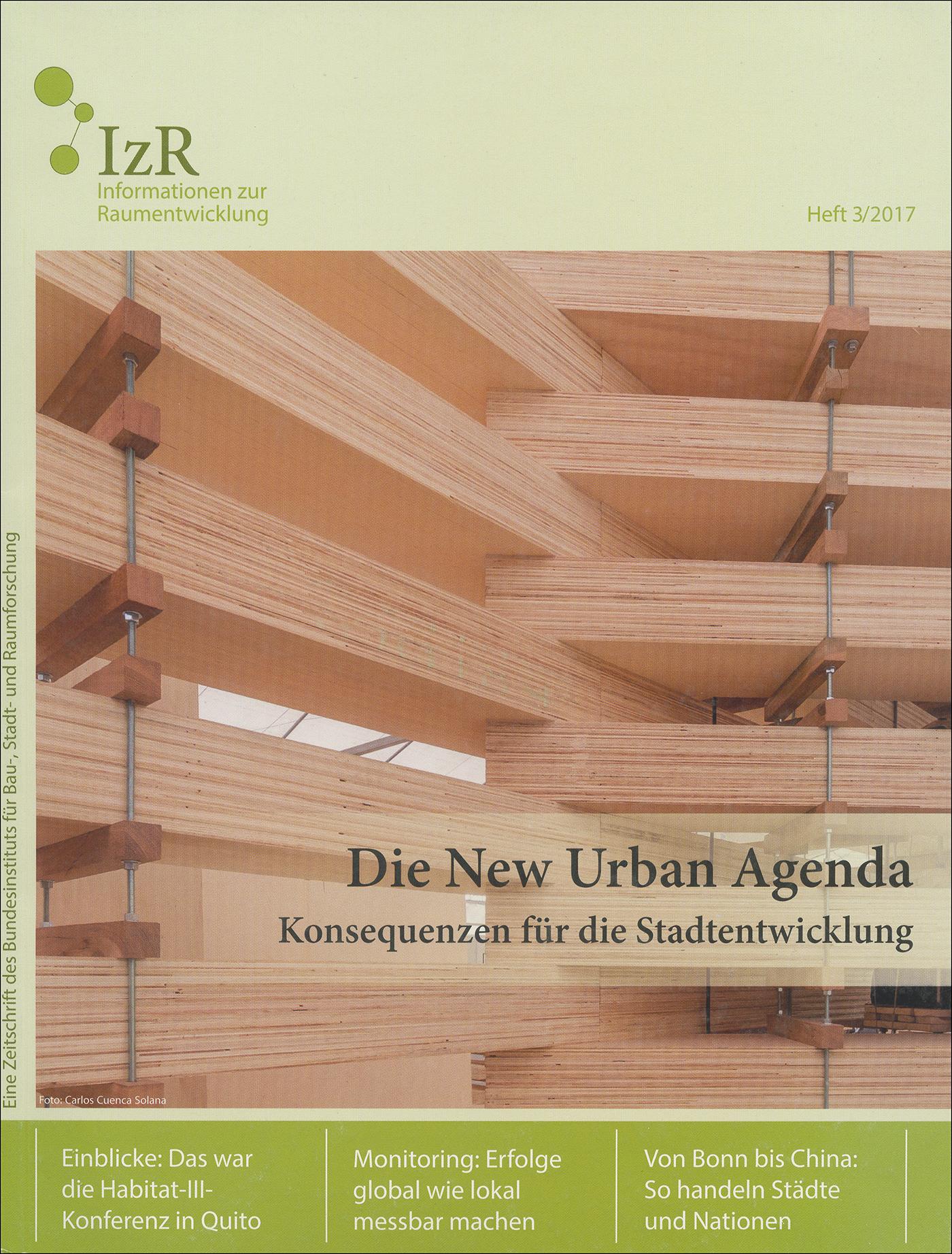 Cover der Zeitschrift IZR Heft 2017/3