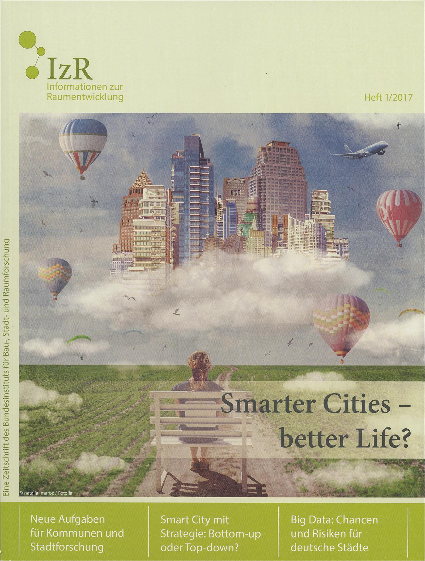 Cover der Zeitschrift IZR Heft 2017/1