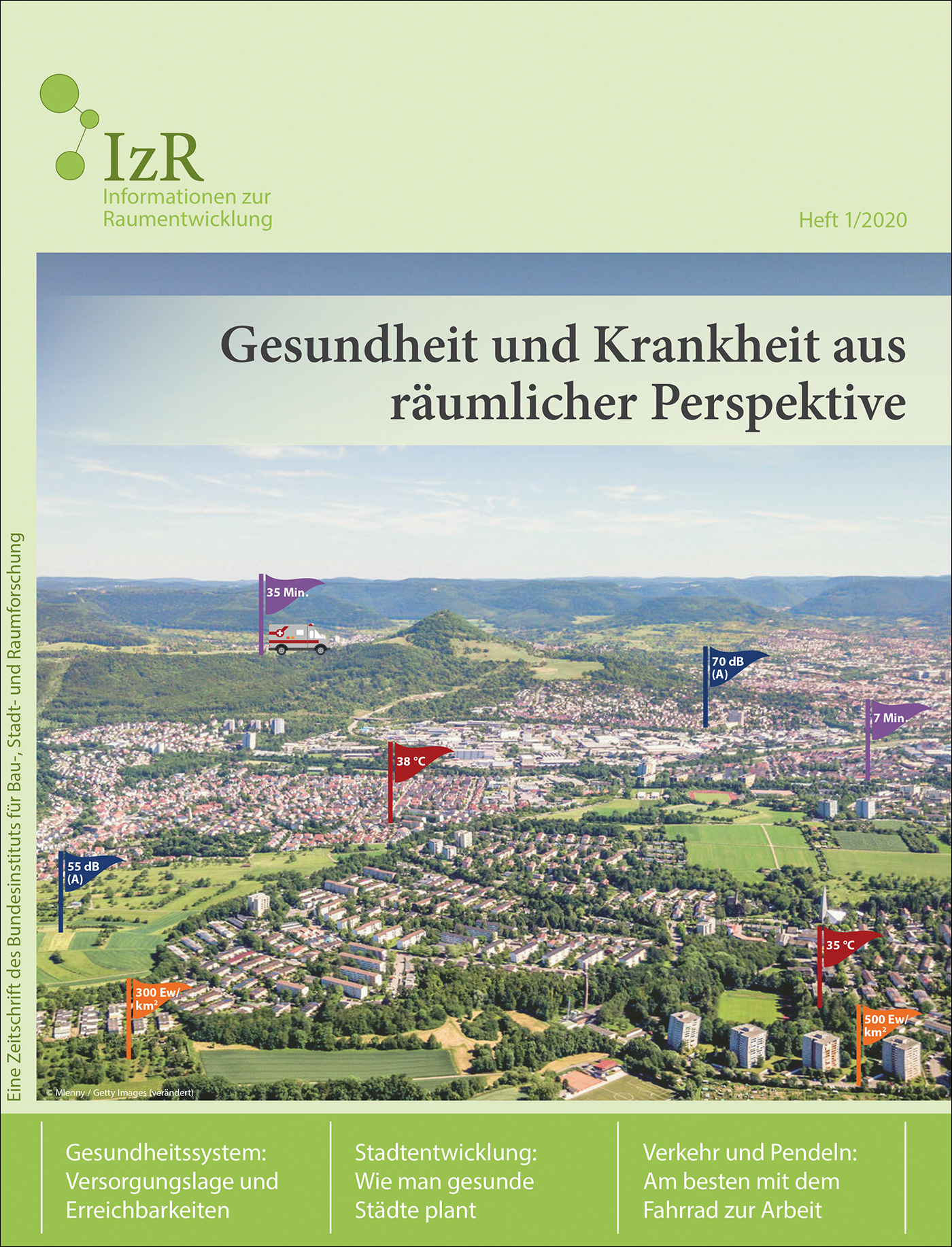 Cover der Zeitschrift IZR Heft 2020/1