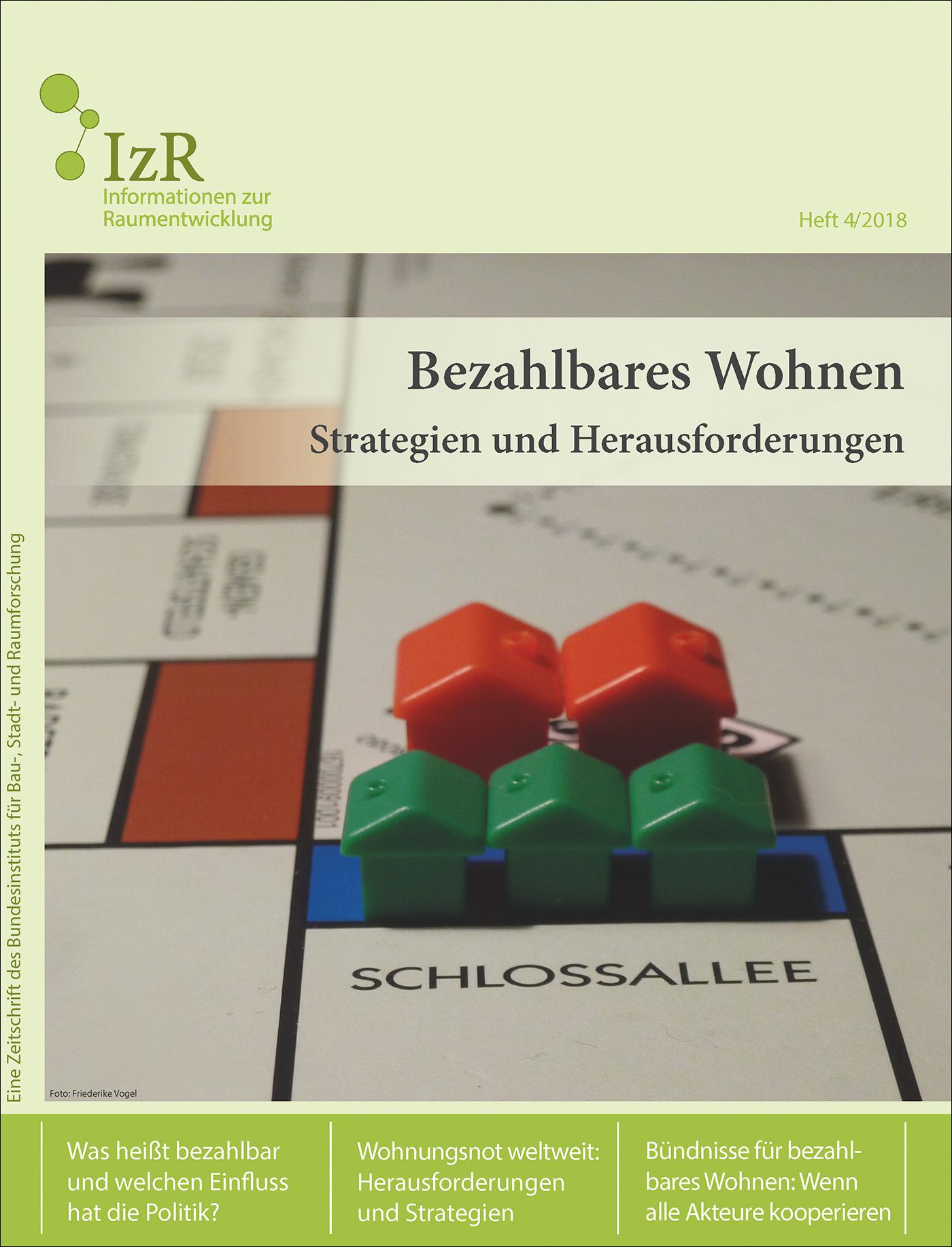 Cover der Zeitschrift IZR Heft 2018/4