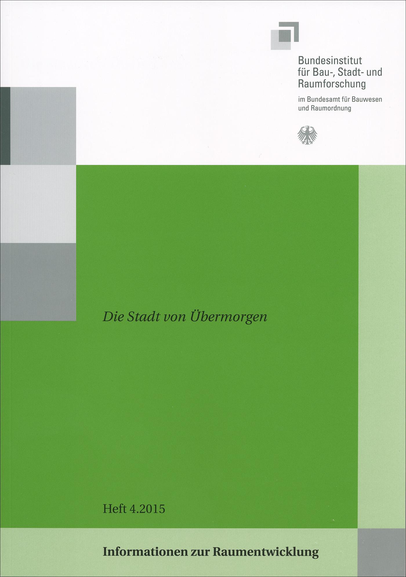 Cover der Zeitschrift IZR Heft 2015/4